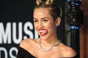 Miley Cyrus has had a big image change.  PHOTO/AP
