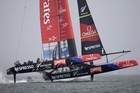 Team NZ may got the equation slightly wrong in Race 4.P Photo / AP