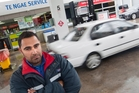 Mobil Te Ngae owner Matt Ralm says the theft of petrol has increased over the last few weeks.  Photo / Bewn Fraser