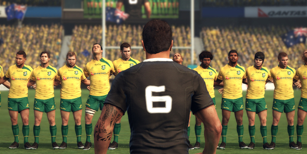 A scene from Sidhe's Rugby Challenge 2.