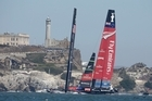 Emirates Team New Zealand have won both of the opening races in the America's Cup and need just seven more victories to claim the Auld Mug.