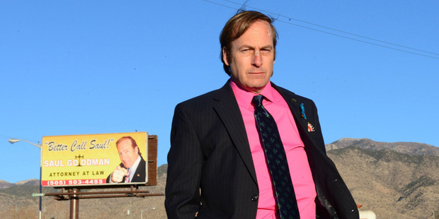 Bob Odenkirk will play Saul Goodman in a Breaking Bad spin-off series. Photo / AP