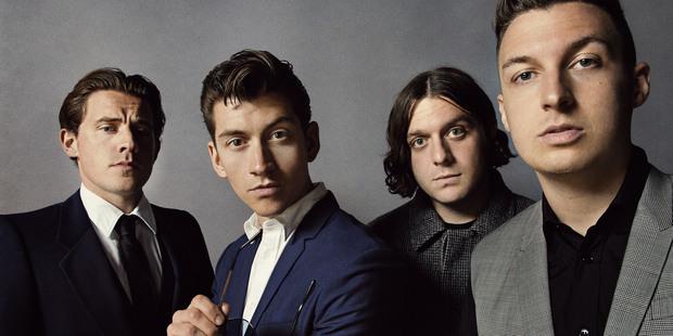 The Arctic Monkeys.