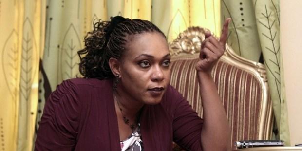 Sudanese Amira Osman Hamed speaks with an AFP journalist during an interview in Khartoum on September 8, 2013. Photo / AP
