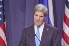 U.S. Secretary of State John Kerry is rejecting Syrian President Bashar Assad's suggestion that he begin submitting data on his chemical weapons arsenal one month after signing an international chemical weapons ban.