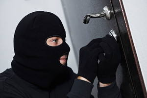 Two alleged burglars were nabbed after a neighbour reported suspicious behaviour.