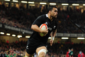 Liam Messam, 29, has played only 22 tests but made his debut way back in 2008. Photo / Getty Images