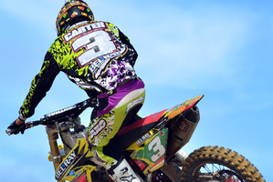 Mount Maunganui's Rhys Carter is making his Motocross of Nations debut this season. Pictures / Andy McGechan