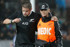 Richie McCaw's injury leaves a gap to be filed by Sam Cane. Photo / Christine Cornege