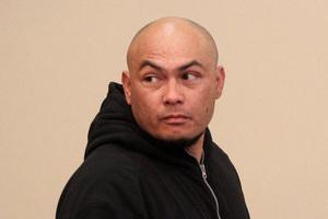 Otara man Walter George Tauatevalu appears at Manukau District Court this morning. Photo / Chris Gorman