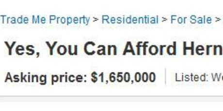 Affordability is relative, I guess.
