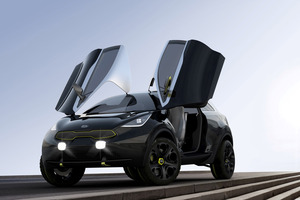 Debuting at Frankfurt, Kia's sporty crossover Niro concept is set to attract attention thanks to its dynamic design.
