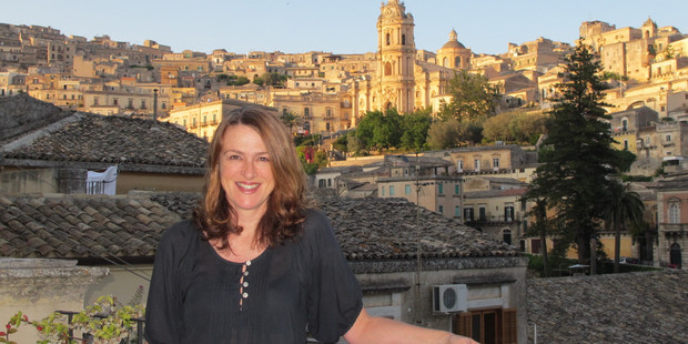 Nicky Pellegrino in the Sicilian town of Modica, where some of her book's ideas were born.