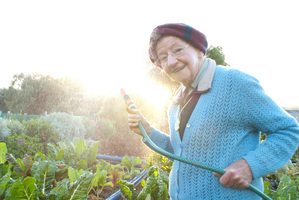 Sister Loyola Galvin in Gardening with Soul. Photo / Dion Howard