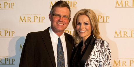 Martin Crowe and Lorraine Downes were among the invited guests at the screening.  Photo / Greg Bowker