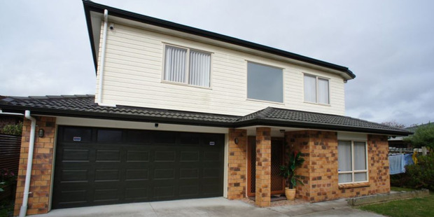 The four bedroom detached house in Papatoetoe.