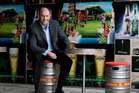 DB Breweries' managing director Andy Routley wants to take the company, which includes brands like Tui, to a new level. Photo / Mark Mitchell