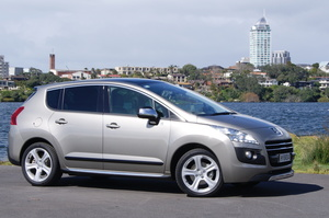 The Peugeot 3008 is the first diesel-electric hybrid car in New Zealand.
