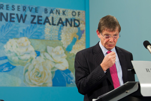 Governor Graeme Wheeler's projected interest rate track is higher than three months ago. Photo / Mark Mitchell