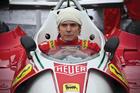Daniel Bruhl plays celebrated F1 champion Niki Lauda in the new movie Rush.Chris Hemsworth plays British Formula One playboy James Hunt.
