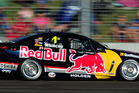 Jamie Whincup has a tenuous grip on the top spot. Photo / Getty Images