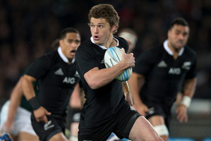 The All Blacks' jerseys were repossessed by the embarrassed sponsors as soon as the test was over. Photo / Getty Images