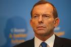 Prime Minister Tony Abbott. Photo / AP