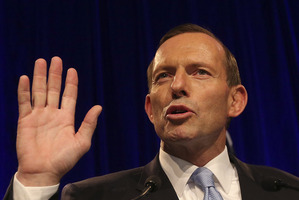 Tony Abbott is already setting to work on dumping Labor's carbon and mining taxes. Photo / Getty Images