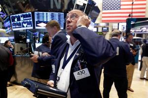 Stock exchange gains last week were a big improvement over August. Photo / AP