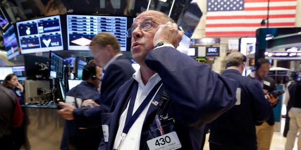 Wall St was up more than 1 per cent overnight. Photo / AP