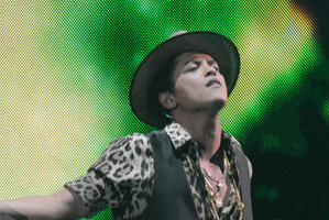Bruno Mars. Photo / AP