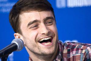 Actor Daniel Radcliffe admits it will be hard move on from being associated as Harry Potter. Photo  / AP