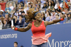 Serena Williams' victory in the US Open takes her career grand slam total to 17 wins. Photo / AP