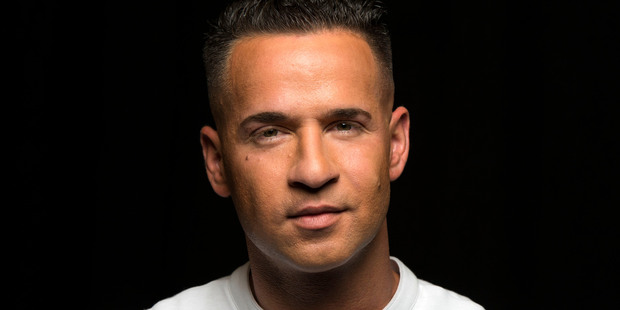 Reality television star from the MTV Series 'Jersey Shore' Mike 'The Situation' Sorrentino. Photo / AP