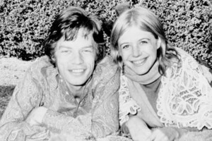 Mick Jagger and Marianne Faithfull didn't stay together. It was only in her 50s that Faithfull became comfortable with her sexuality. Photo / AP