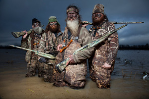 Despite all the guns and crazy beards there are down-home family values at the heart of  Duck Dynasty . Photo / TV2