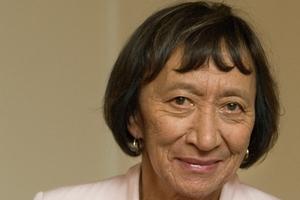 The chair of Maori Television's board, former National MP Georgina te Heuheu.