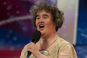 British singer Susan Boyle.