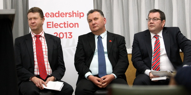 Labour party leadership candidates. Photo / APN