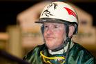 Maurice McKendry drives Machtu. Photo / NZPA