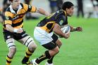 Wellington's Lima Sopoaga against Taranaki in the ITM Cup rugby match at Westpac Stadium, Wellington. Photo / Ross Setford