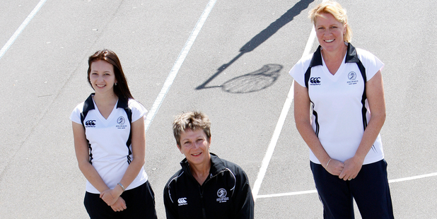 Lucy Gardner Lee, Sue Cresswell and Amie Pooley have become the first Whangarei Netball umpires to be nationally recognised since 1994. Photo / Michael Cunningham