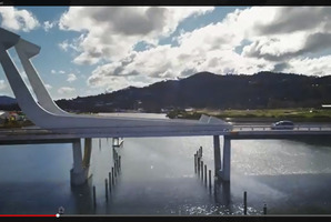 STYLISH: Whangarei's Te Matau a Pohe appears in the new Kia advert.