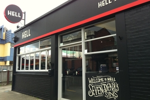 Hell Pizza has built its reputation on innovative products and quality ingredients. Hell works hard to keep its brand edgy and at the forefront of customers' minds.