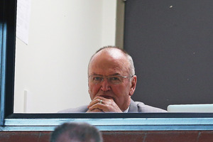 Sir Graham Henry was in the Pumas' coaching box. Photo / Getty Images