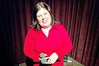 Urzila Carlson, a proud Springbok supporter. Photo / NZ Herald