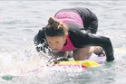CLEAN BREAK: Under 19 New Zealand Iron Woman champion Natalie Peat said she had faith in the water testing results.