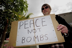 Tauranga rally for peace in Syria organiser Colin Thew wants to raise awareness about the Syrian war. Photo/George Novak