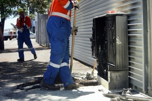Unison is on the alert after a raft of vandalism to power boxes in Hastings. Photo / File