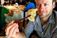 Julian Hanton tries the food in Hong Kong.